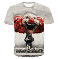 Joker Atomic Bomb 3D Print T-shirt bozo explosion alert for real estate professionals Unisex Tee Shirts Plus Size Homme