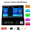 Quad Core Pure Android 5 11 7 Inch One DIN Universal Detachable Panel Car DVD GPS