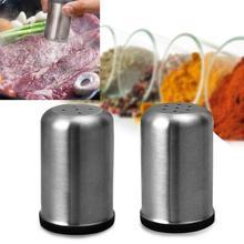Нержавеющая сталь баночка для специй земснаряд соль сахар специи перечница приправа многоцелевой кухонный инструмент