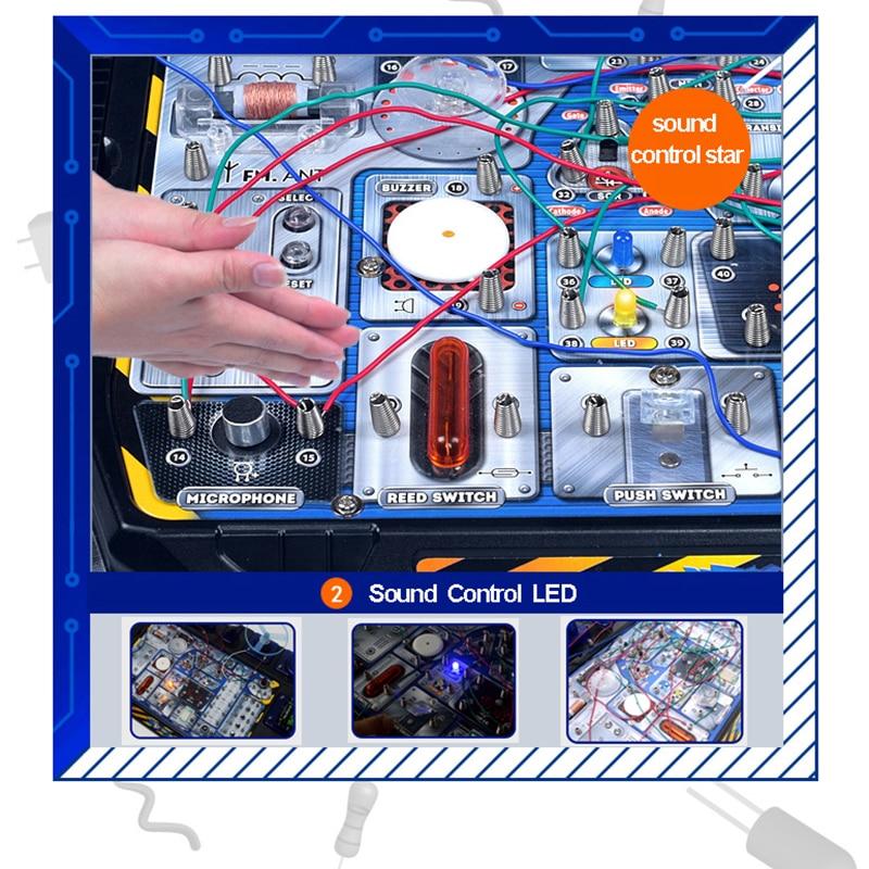 Jouet éducatif de Science de jouet d'expérimentation physique, jouets d'apprentissage de technologie d'expérimentation de physique créative pour des enfants BLWLSY - 3