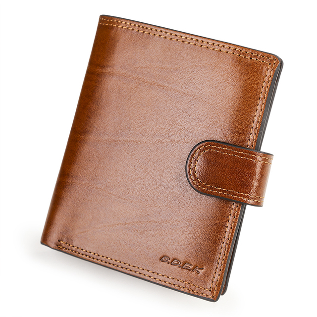 384bf19d1a43 US $23.09 23% OFF|Passport Credit Card Holder Coin Purses Italian Cattle  Neckline Real Genuine Leather Wallets Men Billetera Portefeuille  Carteras-in ...