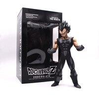 Anime Dragon Ball Z Vegeta Chocolate Black PVC Action Figure 25CM Free Shipping