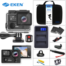 EKEN H5s Plus & H5s Ultra HD 4K+ Action Camera 12MP with EIS 100ft Underwater Waterproof Cam Remote Sports Camcorder Sony Sensor