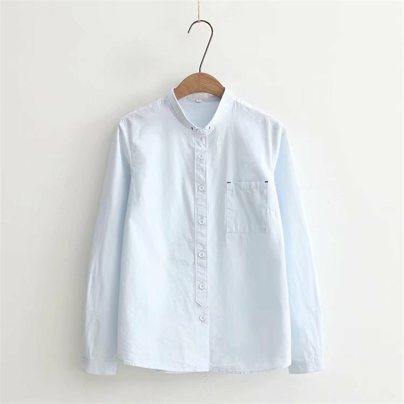 Sale Goplus 2018 White Blouse Women Shirt Cotton Tops Sweets Stand
