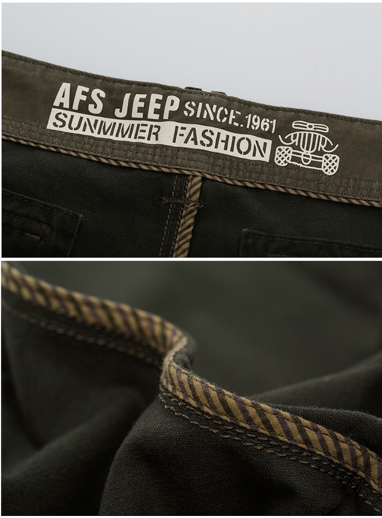 2015 Brand AFS JEEP Men New Pants Autumn Winter Cotton Cargo Casual Pants Pockets Fashion High Quality Mens Slim Pant Size 30~44 (26)