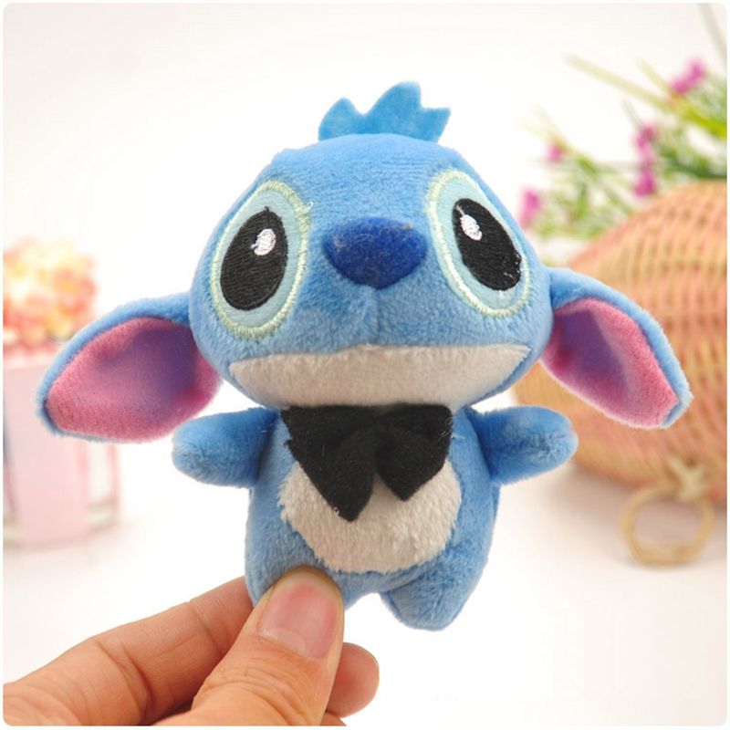 10CM Cartoon Stitch Lilo Stitch Plush Toys Doll Children Stuffed Toy Lovely Kids Birthday Gifts Animal Character Cute Girls in Movies TV from Toys Hobbies