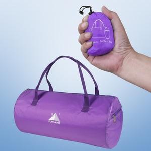 Sport Training Gym Bag Folding Nylon Wat