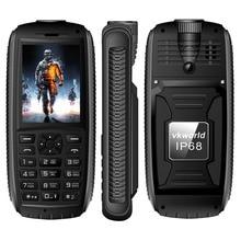 VKWorld Pierre Nouvelle V3 Quadruple Téléphone Portable SC6531CA RAM 64 MB ROM 64 MB 2.4 pouce Tri Carte SIM Bluetooth FM Radio Torche 3000 mAh