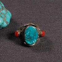 #10 ручной работы непальское 925 Серебряное кольцо тибетское Серебро 925 мужское кольцо богемское кольцо