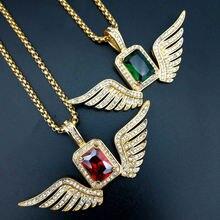Ожерелье Стразы с микрозакрепкой Сверкающее ангельским крылом