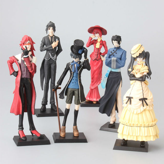 Black Butler Princess Kuroshitsuji Anime Action Figure Model Toys