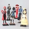 Anime negro mayordomo Princess Kuroshitsuji figuras de acción juguetes modelo regalo de cumpleaños los niños decoración del hogar artesanía