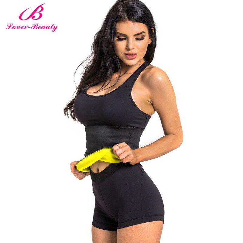 Lover Beauty Neoprene Sweat Belt Weist Trainer Corset Tummy Trimmer Fajas Shaper Slimming Belt Underwear Girdle