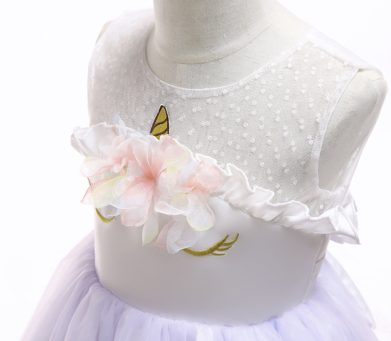 HTB1DyE7afvsK1RjSspdq6AZepXaA Unicorn Dresses For Elsa Costume Carnival Christmas Kids Dresses For Girls Birthday Princess Dress Children Party Dress fantasia