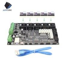4 слоев PCB ПЛАТЫ контроллера МКС Gen V1.4 интегрированы плата совместимость Ramps1.4/Mega2560 R3 с 5 шт. DRV8825 и usb кабель