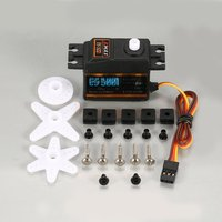 4PCS EMAX Analog Plastic Gear Servo ES3001 4.8V 6V 4.2kg 0.17/0.14s/60 Degree for RC FPV Fixed Wing Airplane Model Toy Parts