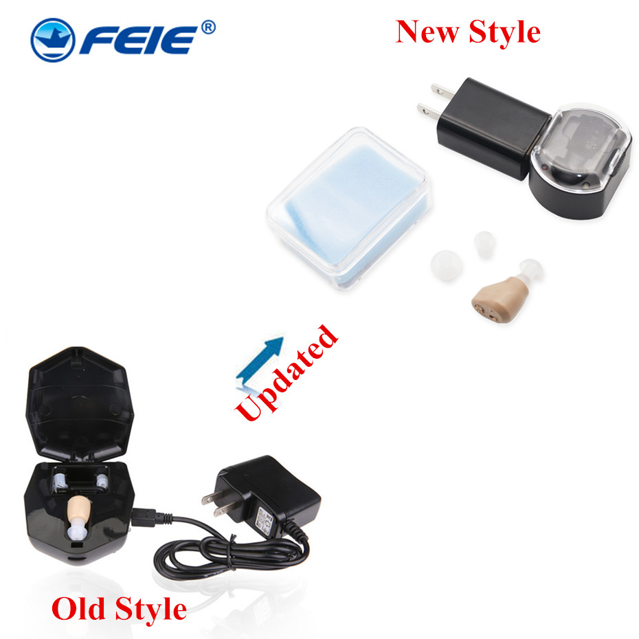 цены Earphones Deaf Headset Rechargeable Small Listening Device Aid S-219 Hearing Aids for the Deaf in the Ear Free shipping