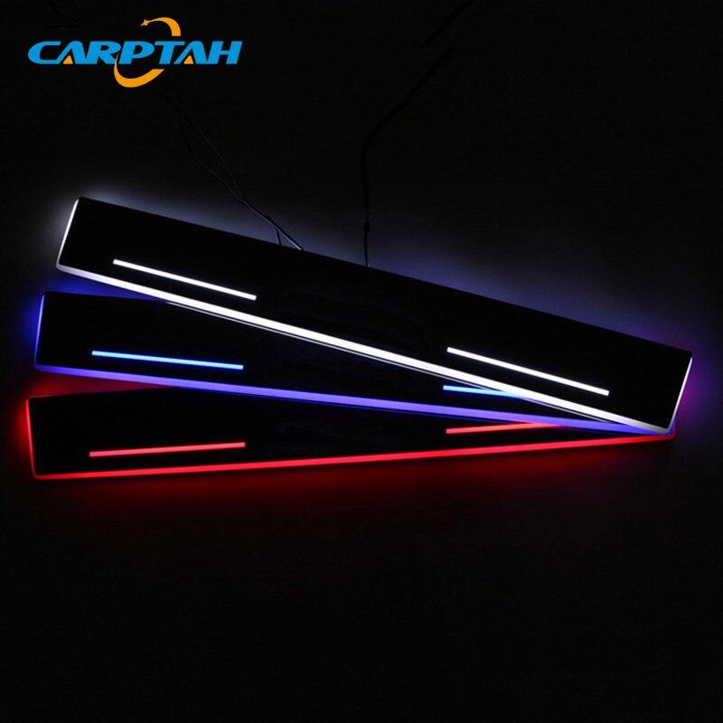 CARPTAH Trim Pedal Car Exterior Parts LED Door Sill Scuff