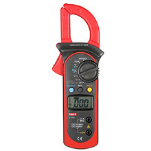 Digital Clamp Multimeter UNI-T UT202 Auto Range Clamp Meter AC Current Clamp 400A V/C/F Diagnostic-Tool DC Current Clamp Meter