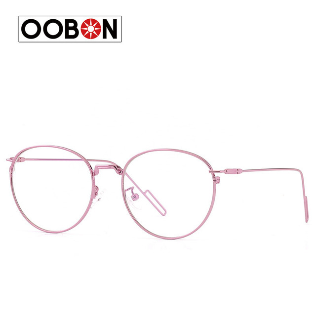 8c9a65640c 2017 New Men Aviator Classic Eyeglasses Rose Gold Metal Spectacle Frame  Clear Glasses Women Optical Glasses Frame Oculos Gafas