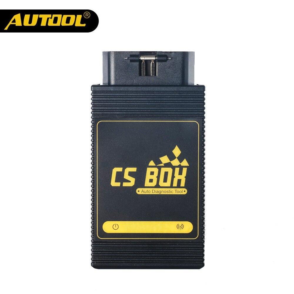 AUTOOL CS BOÎTE Facile Diag Mdiag OBDII De Diagnostic Multi Système ETC Airbag ABS Clé De Codage Scanner Bluetooth Connect Android Lancement