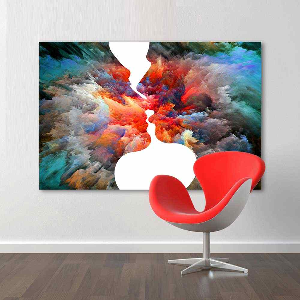 HDARTISAN Abstract Posters And Prints Wall Art Canvas Painting Wall Pictures For Living Room Home Decor No Frame