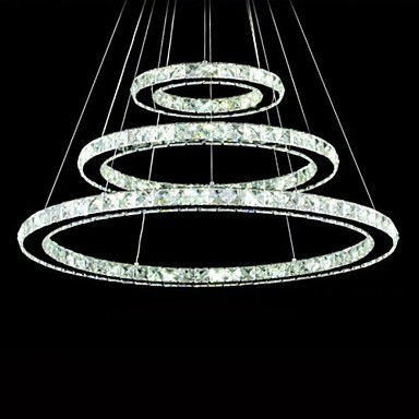 70CM LED Modern Crystal Pendant Light Lamp Fixtures,Luminaire Lustre De Cristal Sala Teto E Pendentes Luz golden led modern crystal pendant light lamp with 3 lights for living dining room luminaire lustre de sala cristal