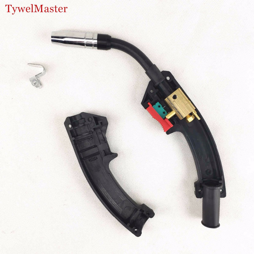 MB 14AK MIG/MAG Welding Torch 180A Welding Torch MIG Welding Gun Air-cooled Euro Connector MB 14AK Welding Torch