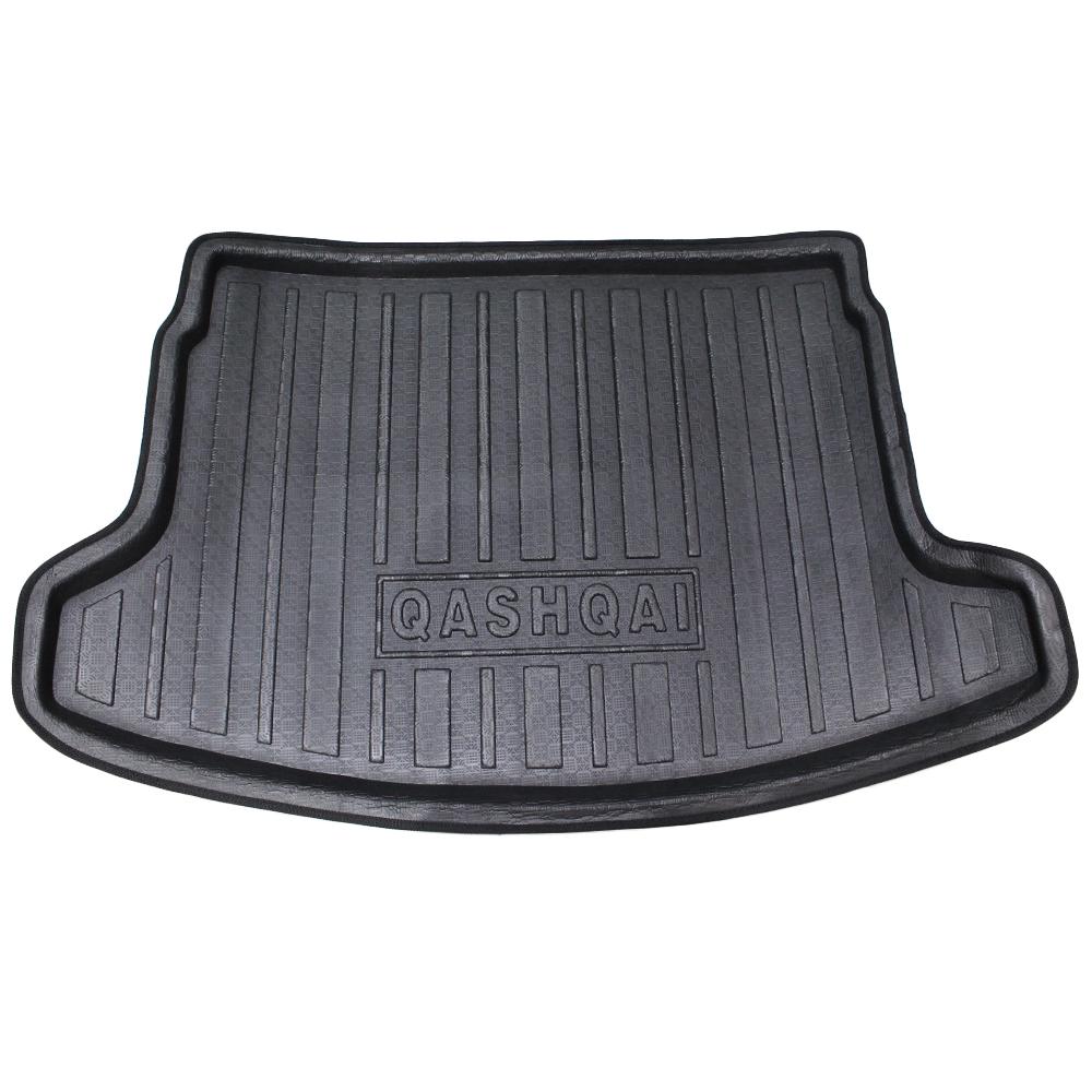 для Ниссан Кашкай 2008 2009 2010 2011 2015 багажник автомобиля коврики коврики кассетного пол протектор 3 цвета