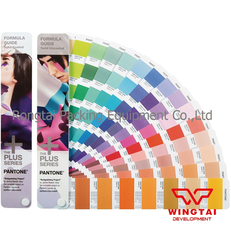 2017 New Version Pantone GP1601N Formula Guide Solid Coated&Uncoated Color Card Patone CU Color Guide цветовые карты pantone 2015 cu gp1601