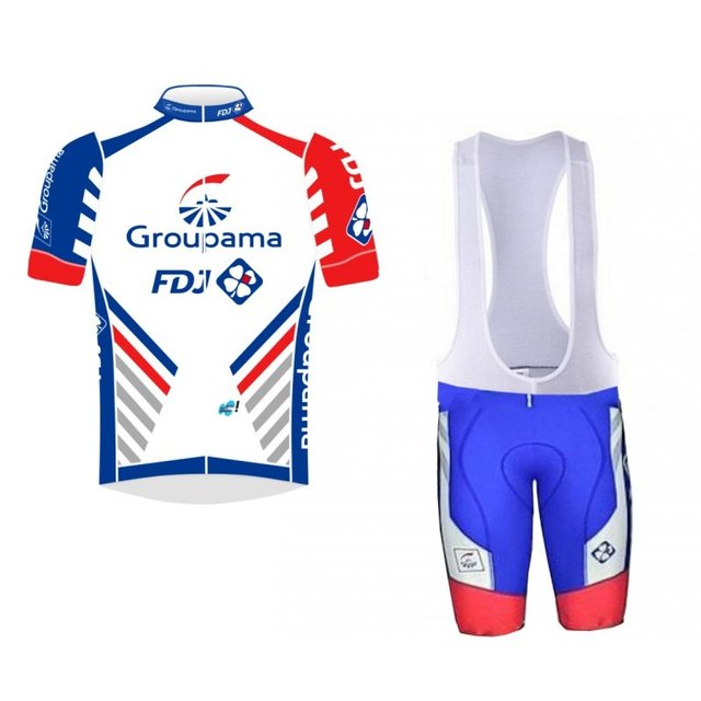 more choices !2018 pro tour team fdj cycling jersey kits mens summer bike  cloth MTB Ropa Ciclismo Bicycle maillot gel pad 7ba8d6ef9