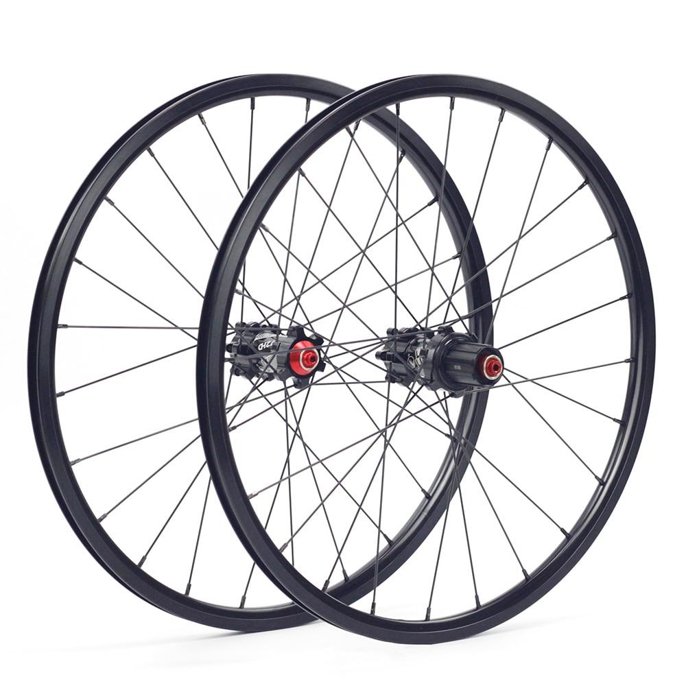 "Alloy 20/"" 406 451 Wheels V Disc Brake for Minivelo Folding Recumbent Tricycle"