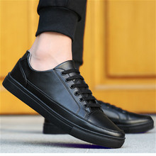 Allwesome Men Leather White Chunky Shoes Retro Stylish Vulcanized Rubber Flat Designer Sneakers High Fashion Bambas Hombre