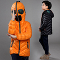 Adolescente Jaqueta de Inverno Meninos Grossas Crianças Casaco de Inverno Para Baixo moda estilo Homem-Aranha Crianças Roupas de Inverno Menino Parka Outwear