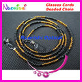 1pcs or 5 pcs or 10pcs L833 Glass Beaded Eyeglasses Sunglasses Spectacle Chain Cords Lanyard Independent Packing free shipping