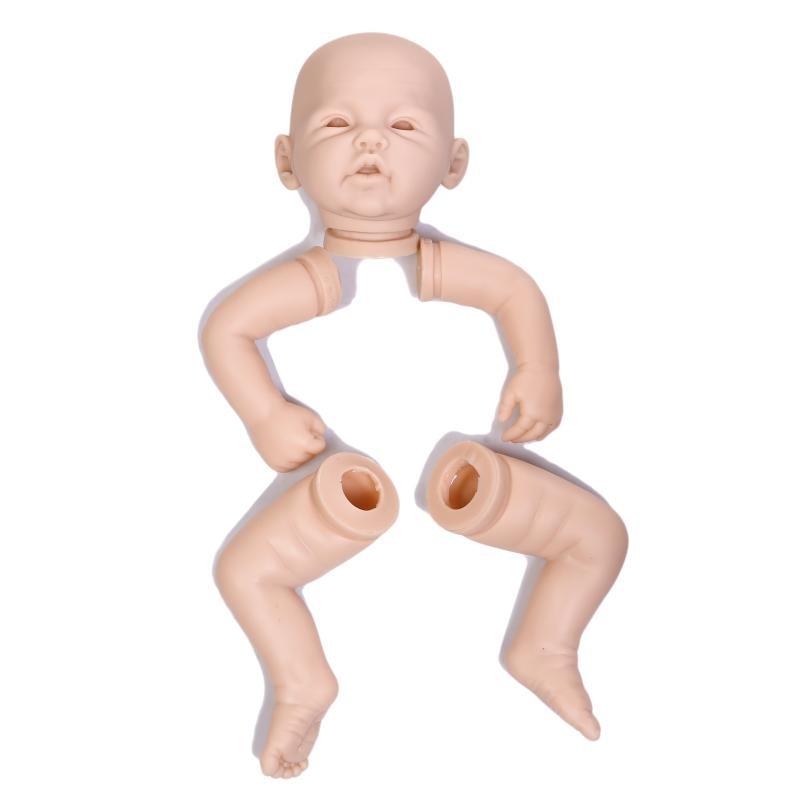 3//4 18/'/' doll kits Reborn doll body for 3//4