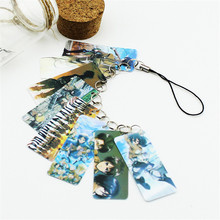 Attack on Titan Pvc Card String Keychain