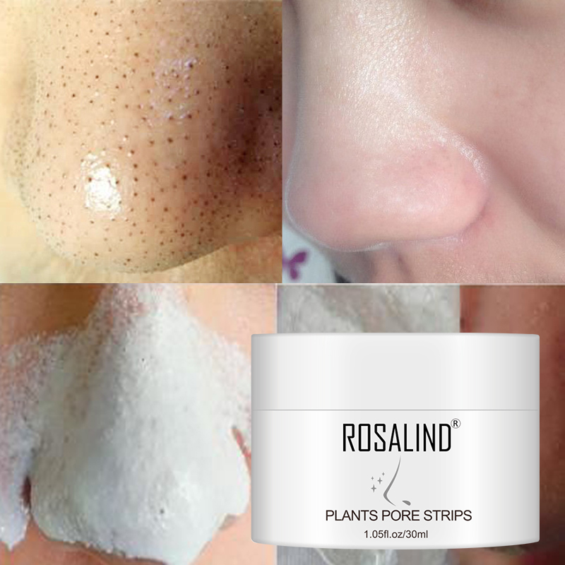ROSALIND Nose Blackhead Remover Facial Deep Cleaning Nose Mask Blackheads Strips Removal Hydrating Pores Cleaning Nasal Sticker