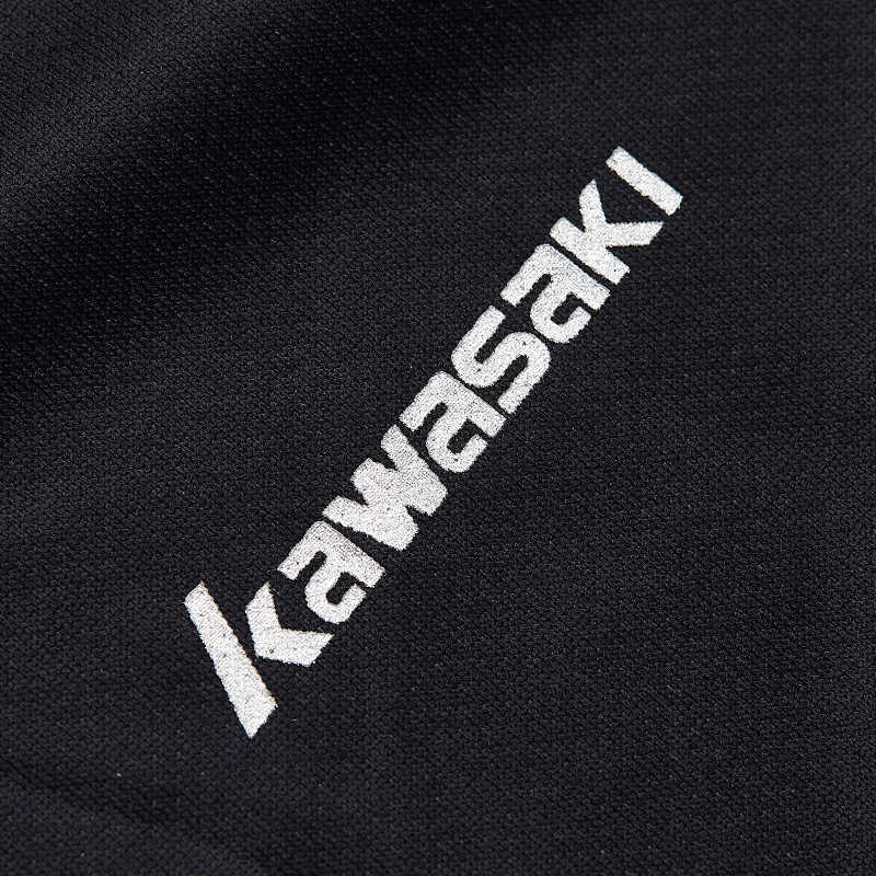 Kawasaki Badminton Sportswear t-Shirts For Women Table Tennis O-Neck Breathable Black Color Badminton Sport T-shirt ST-S2115