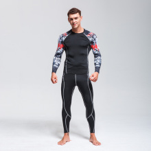Ski Thermal Underwear Set>>Men Sportswear>>Fitness Training Quick-drying Clothing>>Compressed Warm