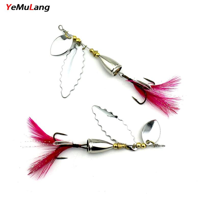 YeMuLang 1 UNIDS señuelos de pesca 9cm 10.5g VIB Bait ice Diving - Pescando