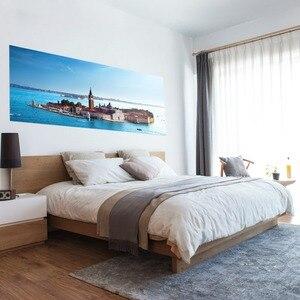 Image 2 - シーンベッドヘッドウォールステッカーウォールステッカー子供子供の寝室、リビングルームベッド装飾グロー部屋の装飾