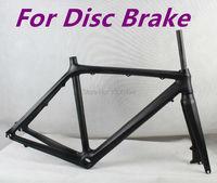 Full Carbon Disc Road Bike Frame Fork SIZE 52 BB30 UD Matte Finish KQ RB58