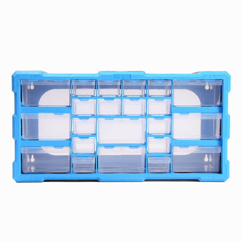 High Quality Tool Case Toolbox Parts Box Classification Of Ark Multi-grid Drawer Type Building Blocks Screw Hardware Storage Box