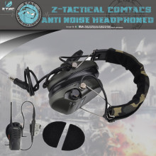 Z-tactical Softair Zsordin Third-Generation Noise Reduction Headset Z111 With Tactical Baofeng Walkie Talkie Z005