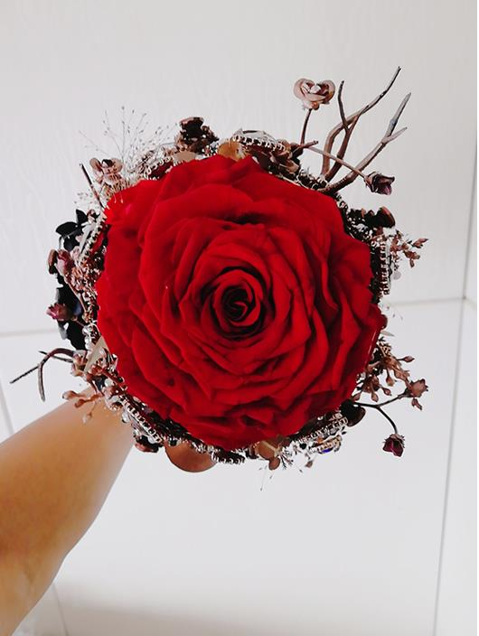 Detail Feedback Questions About Expensive Gothic Bride Bouquet