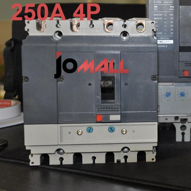 250A 4P 220V NS Moulded Case Circuit breaker 400a 3p 220v ns moulded case circuit breaker