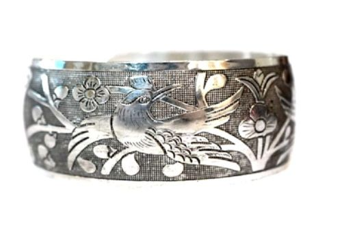 Love Bird vintage retro Tibetan Tibet Silver Bangle Cuff Bracelet ^^10PC^NEW style Fine jewe Noble Natural FREE SHIPPING