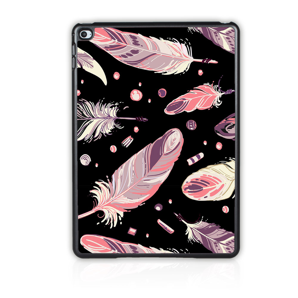 Batianda (TM) Case Cover Luxury Tribal Feather For Apple iPad 2 3 4 Hard Case for Apple ipad 4 3 2 Tablet Cover