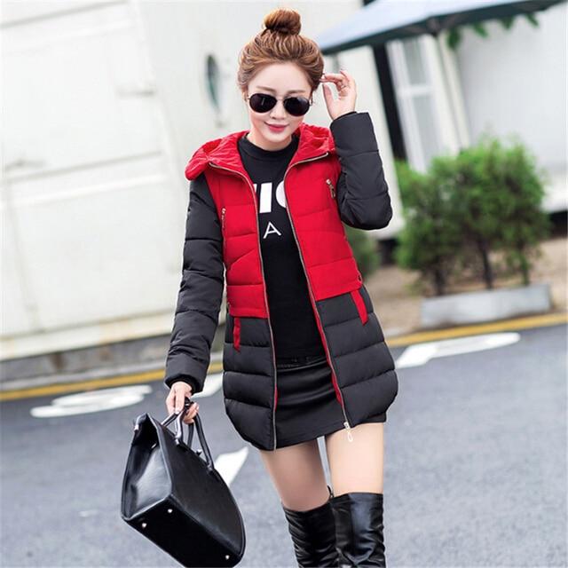 New 2020 Women Parkas For Winter Jacket Women Warm Casual Winter-Clothing Parka Female Long Elegant Coat Women Clothing CC288